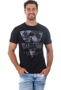 Camiseta Masculina Maidale - Preto