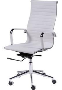 Cadeira Eames Alta Branca Base Cromada - 15121 Sun House