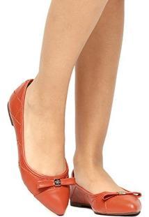 Sapatilha Couro Shoestock Matelassê Bicolor Feminina - Feminino