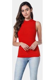Blusa Lunender Feminina - Feminino-Vermelho