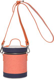 Bolsa Uniform Bucket Bag - Laranja
