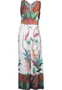 Macacão Estampado Feminino Lily Fashion