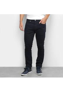 Calça Jeans Lacoste Masculina - Masculino-Marinho