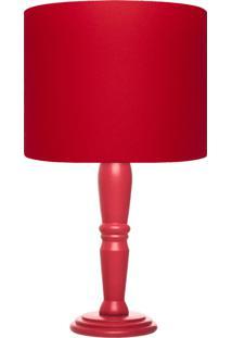 Abajur Carambola Red Vermelho