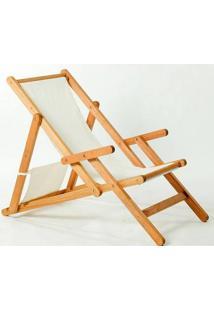 Cadeira Dobrável Com Braços Opi Tec.01.237 Jatobá Mão E Formão