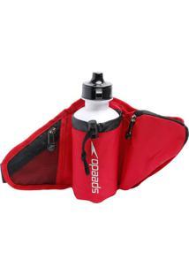 Pochete Com Bordado & Squeeze- Vermelha & Preta- 2 Pspeedo