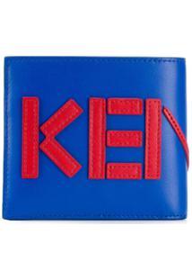 Kenzo Carteira Kenzo Com Logo - Azul