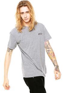 Camiseta Mcd Box Fit Core Tiger Cinza