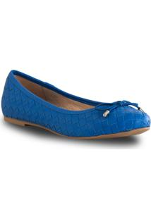 Sapatilha Tressê - Feminino-Azul
