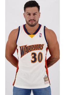 Regata Mitchell Ness Nba Golden State Warriors 30 Curry