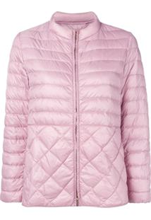 Max Mara Quilted Puffer Jacket - Rosa