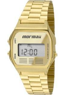 Relógio Mormaii Vintage Aço 33Mm Feminino - Feminino-Dourado