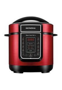 Panela De Pressão Elétrica Mondial Digital Master Cooker, 3 Litros, 110V, Vermelho - Pe-41