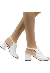 Sandália Zariff Shoes Chanel Fivela