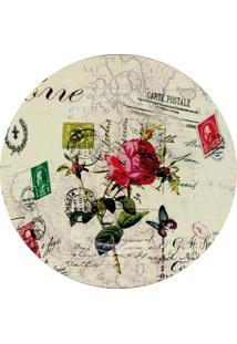Sousplat Mimostyle Postale Floral