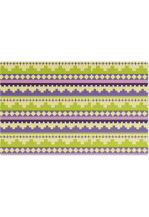 Jogo Americano Nerderia Textura Crochet Verde - Verde - Dafiti