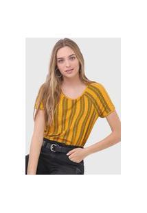 Blusa Malwee Bordada Amarela