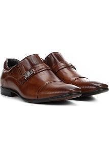 Sapato Social Couro Rafarillo Dubai Masculino - Masculino-Marrom