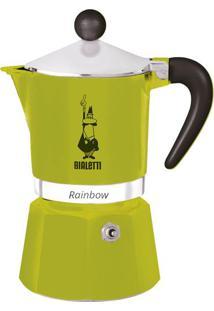 Cafeteira Rainbow 3 Xícaras Verde Bialetti