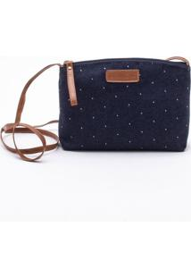 Bolsa Shoulder Bag Jeans Azul - P