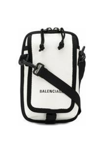 Balenciaga Bolsa Transversal Explorer - Branco