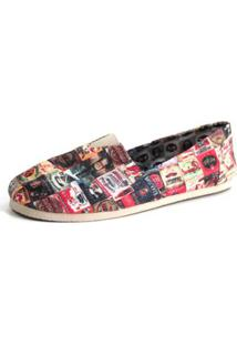 Alpargata Old Is Cool Shoes Inbox Feminina - Feminino-Vermelho