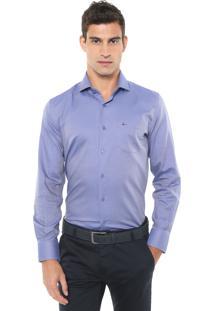 Camisa Aramis Reta Potenza Azul-Marinho