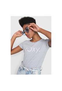 Camiseta Roxy Surf Spirit Cinza