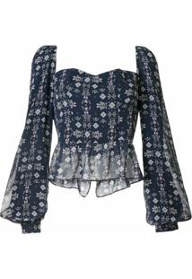 We Are Kindred Blusa Alice - Azul
