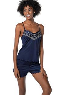 Pijama Curto Shortdoll Bluedream Demillus 20233