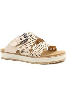 Tamanco Zariff Shoes Birken Fivela Branco