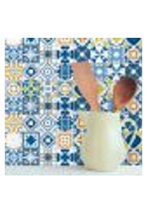 Adesivo De Azulejo Renascença 15X15 Cm Com 18Un