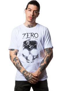Camiseta Basica Grind Masculina - Masculino-Branco
