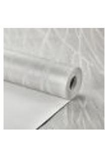 Papel De Parede Sala Importado Texturizado Lavavel Cinza