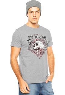 Camiseta Pretorian Beat Hard Cinza