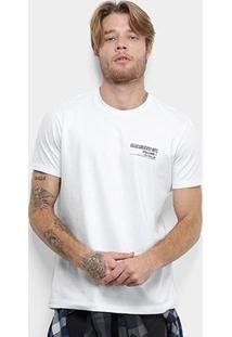 Camiseta Ellus Cotton Fine Greantest Hits Classic Masculina - Masculino-Branco