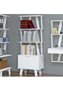 Estante Para Livros Az1003 Branco - Tecno Mobili