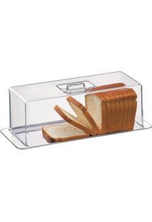 Porta Pão Torta Fria Rocambole 2 Peças Átina 1419100 Brinox