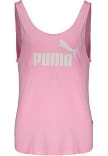 Regata Puma Essentials Tank Feminina - Feminino-Rosa