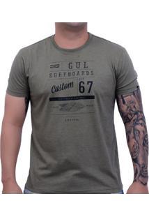 Camiseta Gul Custom Flyer Tee Marrom