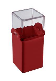 Paliteiro Casual 5 X 4 X 9,5 Cm Vermelho Bold Coza