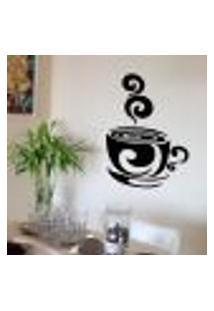Adesivo De Parede Para Cozinha Xícara De Café 2 - Grande