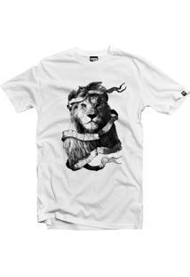 Camiseta Manga Curta The Garage Custom Tees The King Branco