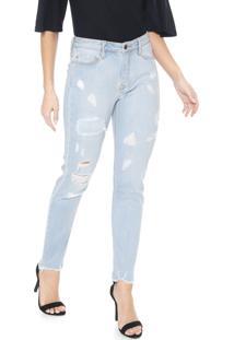 Calça Jeans Carmim Skinny Branbemburgo Azul