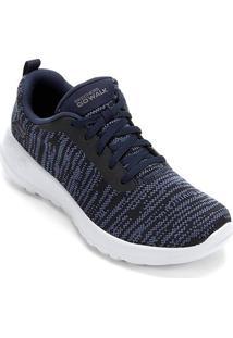91d4687fa80 ... Tênis Skechers Go Walk Joy Rapture Feminino - Feminino-Azul Escuro