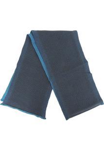 Cachecol Fiero Tricô Premium Bronx Azul Marinho