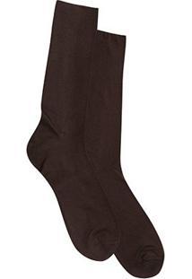Meia Social Shoestock Clássica Poliamida - Masculino