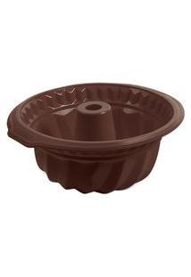 Forma Para Bolo Em Silicone Glacê Brinox Chocolate 3500/307 Brinox