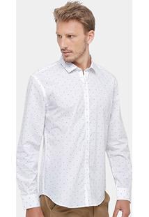 Camisa Ellus 2Nd Floor Maquinetado Masculina - Masculino