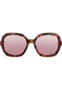 Prada Eyewear Prada Eyewear Collection Sunglasses - Vermelho